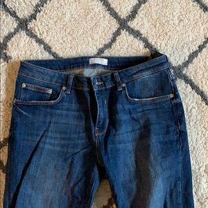 Zara Woman Blue Jean Pants